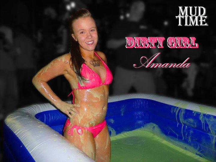 Hot girls mud wrestling
