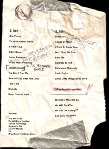setlist2011
