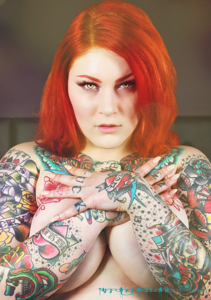 Tattoo Model Of The Day – Dallas Valentine | Blastzone ...