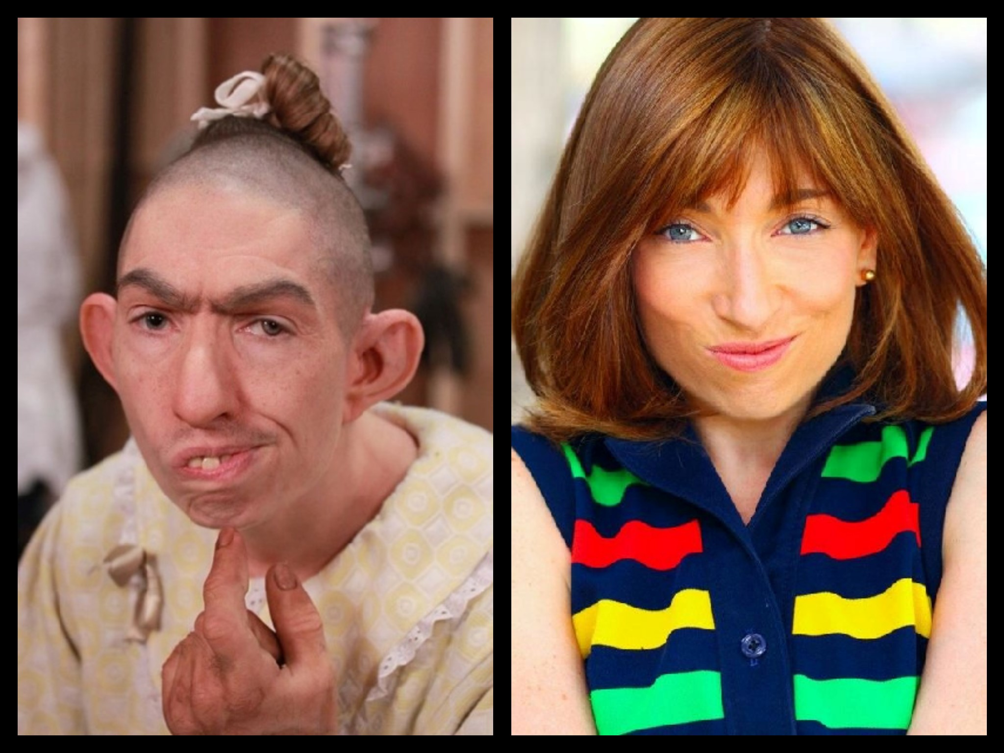 With naomi grossman pepper on american horror story asylum